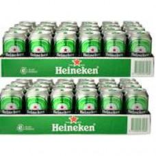 2X Heineken tray 48x33cl Blik