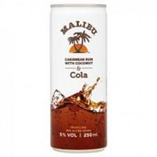 Malibu Cola 25CL Blik