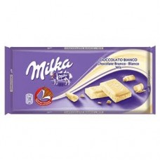 Milka Chocolate Bianco Wit